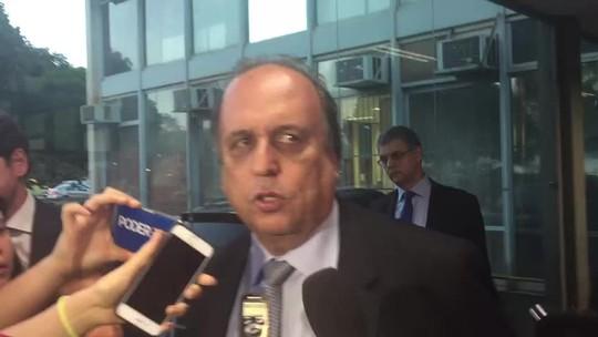 Ausência de teto de gastos dificulta acordo para socorro ao RJ, diz Pezão