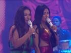 Simone e Simaria apresentam nova música ao vivo no palco do Fantástico