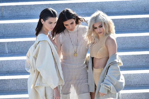 Kylie Jenner, Kim Kardashian e Kendall Jenner (Foto: Getty Images)