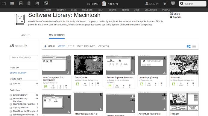 Internet Archive permite usarmos o saudoso Macintosh de 1984 (Foto: Felipe Alencar/TechTudo)