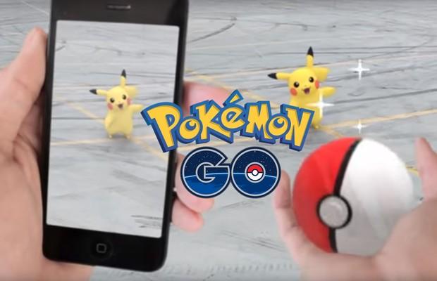 Pokémon Go, jogo de realidade aumentada da Nintendo (Foto: Divulgação)