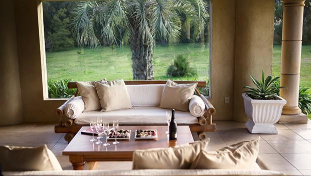 A sala de estar (Foto: Marcio Scavone)