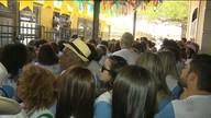 Turistas aproveitam o São João no Trem do Forró