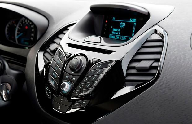Interior do Ford Ka com o sistema Sync (Foto: Divulgação)