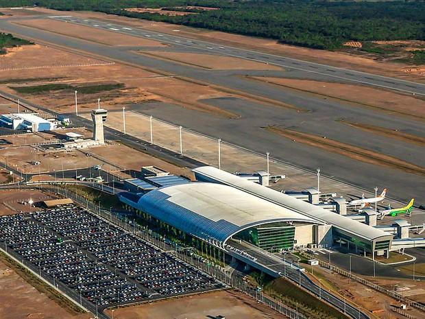 Aeroporto Internacional Governador Aluízio Alves, em São Gonçalo do Amarante (Foto: Canindé Soares)