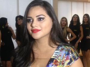 Enyellen Sales, coordenadora do Miss Amapá 2015 (Foto: Jéssica Alves/G1)