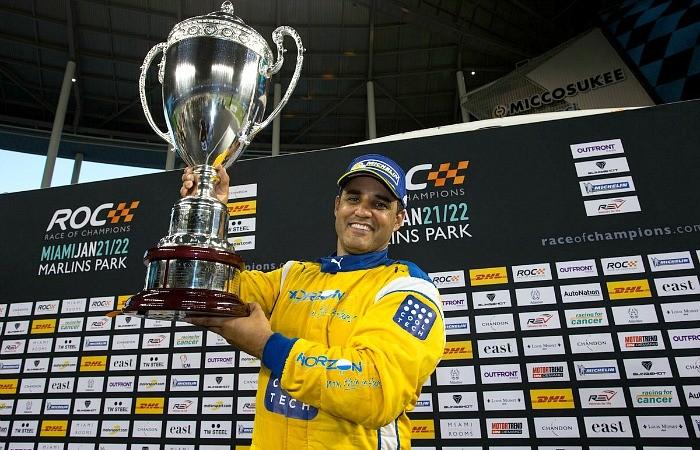 Juan Pablo Montoya vence o Race of Champions em Miami