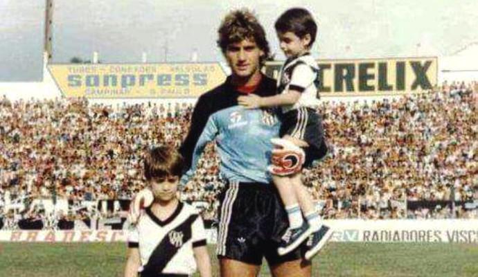 João Brigatti ex-goleiro Ponte Preta (Foto: Arquivo / Ponte Preta)