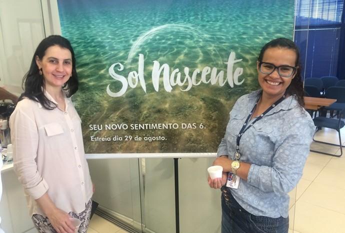 A novela Sol Nascente estreia na segunda-feira, 29 de agosto (Foto: Recursos Humanos / TV TEM)
