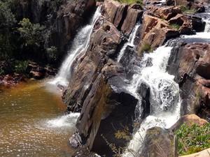 Cachoeira do Fraga (Foto: Rafaela Rodrigues/Arquivo pessoal)