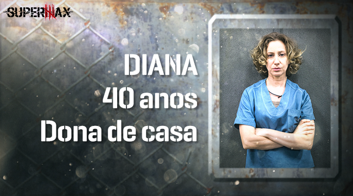 Supermax: perfil da participante Diana (Foto: Gshow)