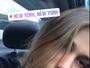Sasha Meneghel desembarca em Nova York e vai direto para a aula