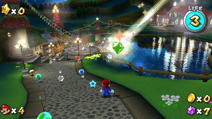 Super Mario Galaxy trouxe os gráficos mais impressionantes do Nintendo Wii (Foto: Reprodução/Gaming Enthusiast)