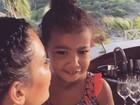 Kris Jenner faz homenagem parabenizando a neta: 'Meu anjinho'