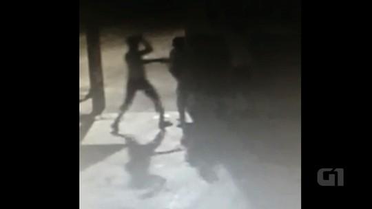 Vídeo mostra momento em que moradora de rua é morta em Goiânia