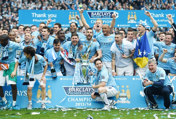 manchester city campeão (Foto: Getty Images)