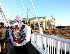 Torcida Corinthians Toyota (Foto: Marcos Ribolli/Globoesporte.com)