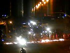Protesto interdita os dois sentidos da Avenida Recife, na Zona Sul