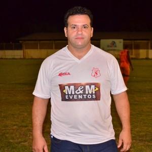 Adroir Bassorici, presidente do Náutico-RR (Foto: Nailson Wapichana)