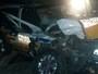 Acidente com carro da PRE de Passos deixa quatro feridos na MGC-146