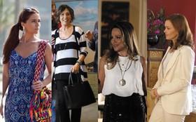 Mães de 'Em Família' andam criando tendência de moda e estilo
