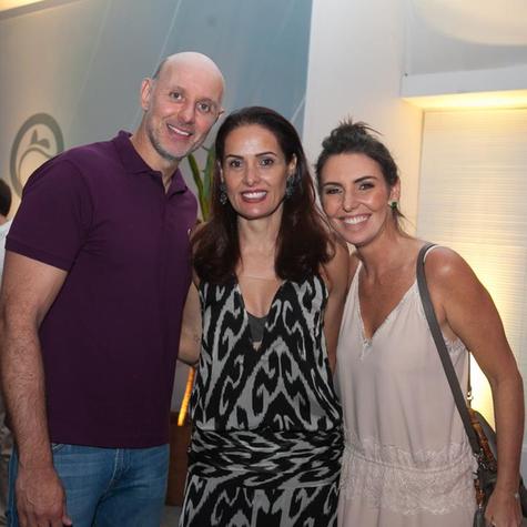 Tande, Adriana Samuel e Glenda Kozlowski  (Foto: Divulgação)
