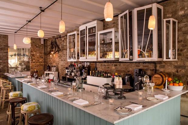 Cardápio à base de gin é sucesso em Londres (Foto: Divulgação)