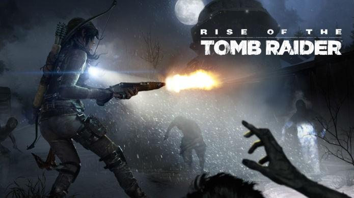 Rise of the Tomb Raider finalmente ganhou seu próprio modo zumbi (Foto: Divulgação/Square Enix)