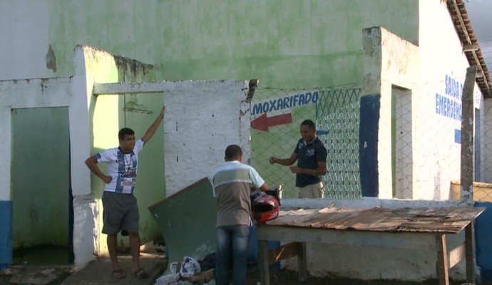 Estádio Silvio Porto, em Guarabira (Foto: Reprodução / TV Cabo Branco)