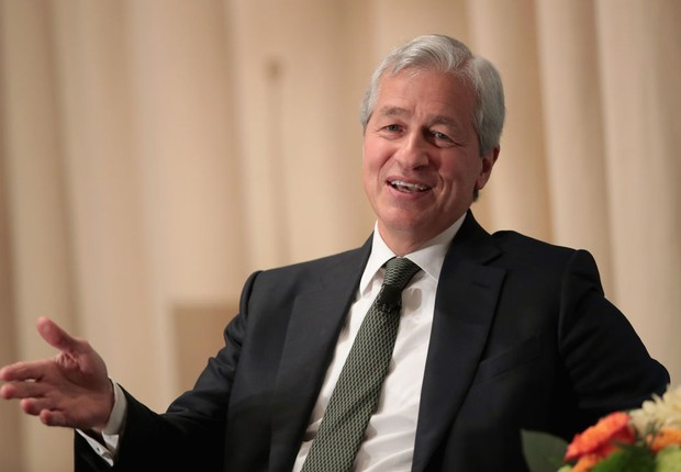Jamie Dimon, CEO do banco JPMorgan Chase (Foto: Scott Olson/Getty Images)