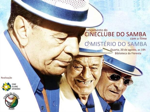 Clube do Samba exibe documentário sobre Velha Guarda da Portela (Foto: Divulgação)