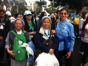 A irmã Wilma Catolos, de Campinas (SP), reclamou da desorganização (Foto: Eduardo Cavalho/G1)