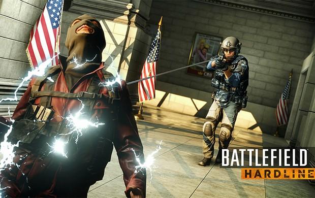 'Battlefield Hardline' abandona temática militar e traz briga entre polícia e ladrão (Foto: Divulgação/EA)