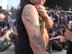 Fã do Mastodon cobre braço com tatuagens de capas de CDs da banda
