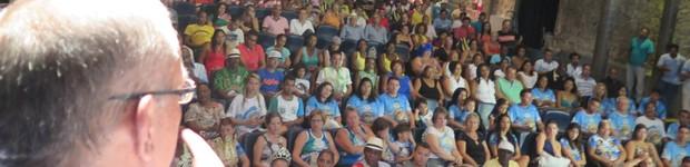 Escolas lotam o Guarany durante prêmio (LG Rodrigues / G1)