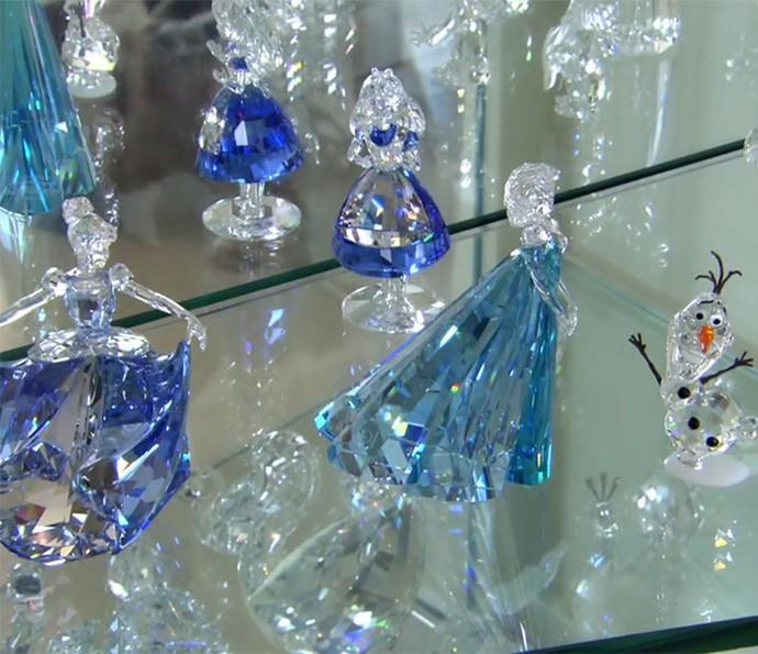 Coleção de cristais de Luciano mistura luxo e diversão (Foto: Reprodução)