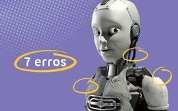 Ana e os Robôs dos 7 erros