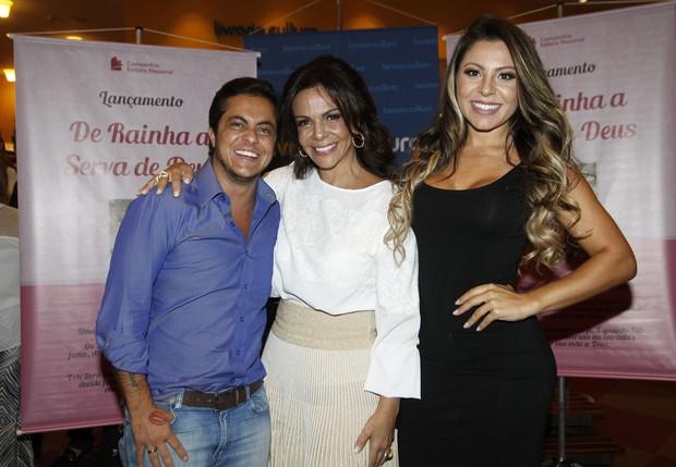 Thammy Miranda e Sula Miranda  (Foto: Celso Tavares / Ego)