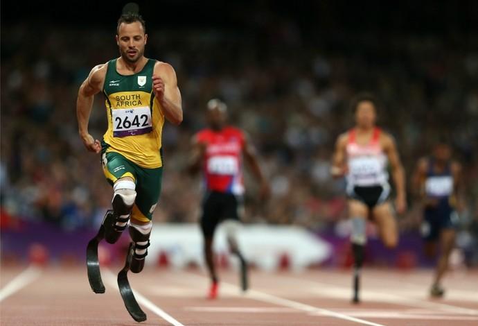 Oscar Pistorius semifinal atletismo paralimpíadas (Foto: Getty Images)