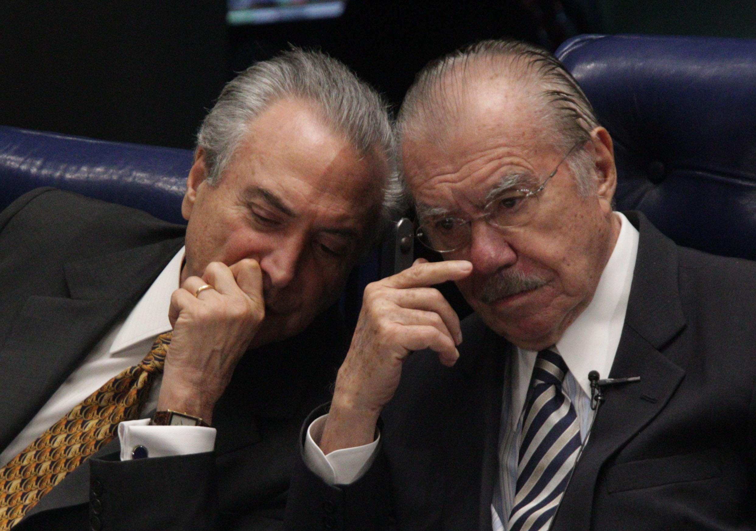 Michel Temer e José Sarney