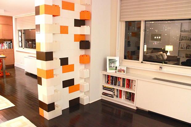 Misturar cores entre os blocos deixa o visual dos ambientes ainda mais bacana e divertido (Foto: Divulgação)