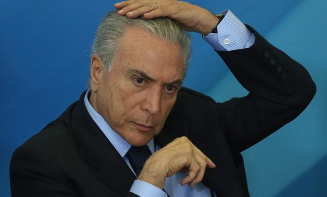 Michel Temer (Foto: André Coelho)