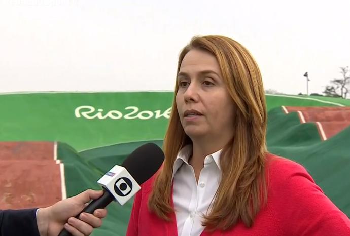 Patricia Amorim, subsecretária de esportes e lazer (Foto: Reprodução SporTV)
