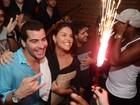 Thiago Martins e Paloma Bernardi comemoram um ano de namoro
