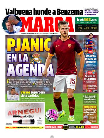 Real Madrid Pjanic (Foto: Reprodução / Marca)