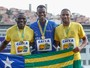 Codó é prata, e Rodrigo Pereira ganha o bronze nos 100m do Troféu Brasil