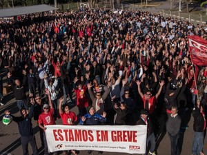 Metalúrgicos da GM decidem pela continuidade da greve (Foto: Divulgação/SindMetalsjc)