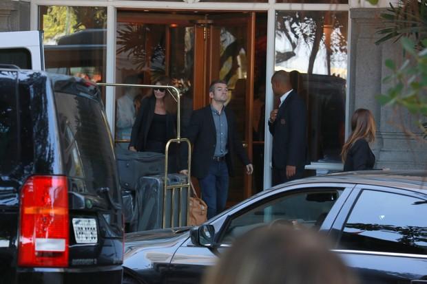 Carla Bruni e Nicolas Sarkozy (Foto: Dilson Silva/ Ag. News)