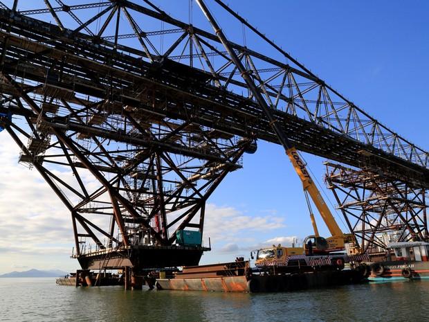 Governo ainda vai decidir empresa que fará a restauração completa da ponte (Foto: Julio Cavalheiro/Secom)