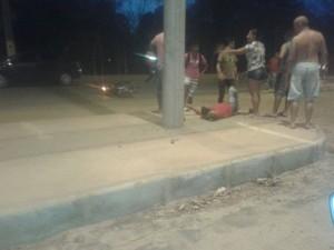 Uma pessoa morreu e outra ficou ferida (Foto: Divulgação/PM)